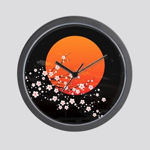 Asian Night Wall Clock
