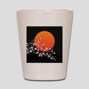 Asian Night Shot Glass
