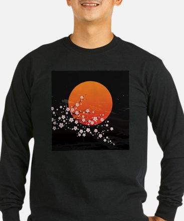 Asian Night Long Sleeve T-Shirt