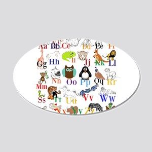 Alphabet Animals Wall Decal