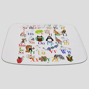 Alphabet Animals Bathmat