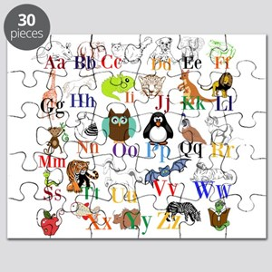 Alphabet Animals Puzzle