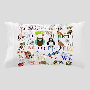 Alphabet Animals Pillow Case