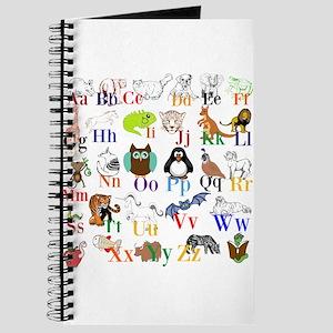 Alphabet Animals Journal