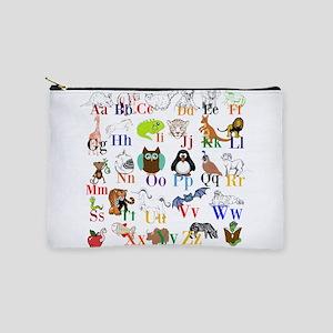 Alphabet Animals Makeup Bag