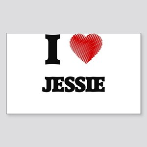 I Love Jessie Sticker