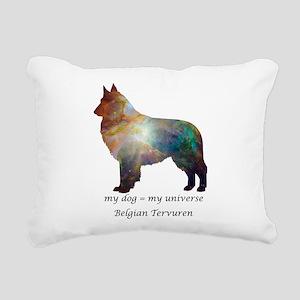 BELGIAN TERVUREN Rectangular Canvas Pillow