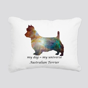 AUSTRALIAN TERRIER Rectangular Canvas Pillow