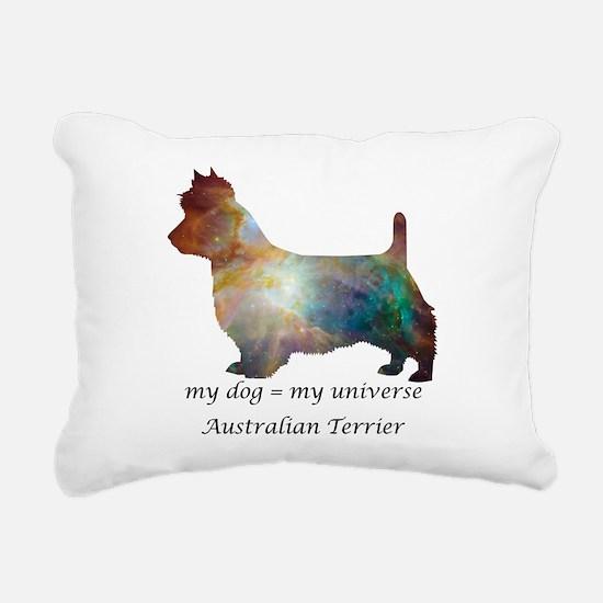 AUSTRALIAN TERRIER Rectangular Canvas Pillow