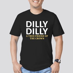 Dilly Dilly A True fri Men's Fitted T-Shirt (dark)