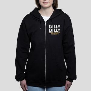 Dilly Dilly A True friend of th Women's Zip Hoodie