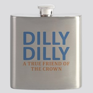 Dilly Dilly A True friend of the crown Flask