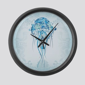 Jellyfish Large Wall Clock