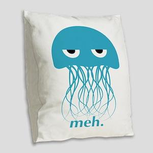 meh Burlap Throw Pillow