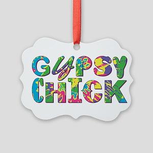 GYPSY CHICK Ornament
