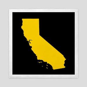california gold black Queen Duvet