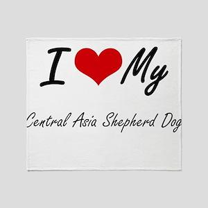 I love my Central Asia Shepherd Dog Throw Blanket