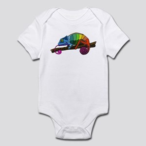 Rainbow Chameleon Infant Creeper