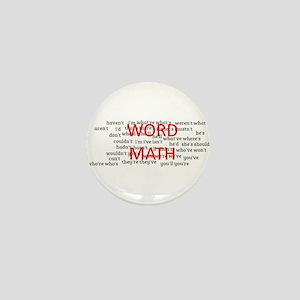word math Mini Button