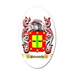 Palombella 20x12 Oval Wall Decal