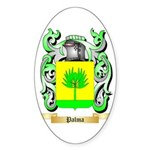 Palma Sticker (Oval 50 pk)
