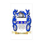 Palluschek Sticker (Rectangle 50 pk)