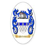 Palleske Sticker (Oval 50 pk)