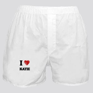 I Love Katie Boxer Shorts