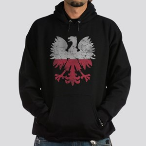 Polish Flag White Eagle Hoodie