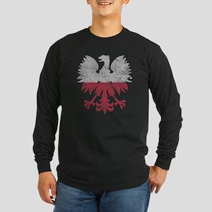 Polish Flag White Eagle Long Sleeve T-Shirt