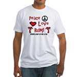 RumReviews.com Fitted T-Shirt