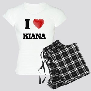 I Love Kiana Women's Light Pajamas