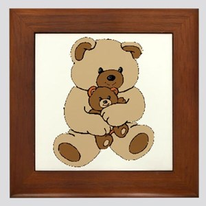 Teddy Bear Buddies Framed Tile