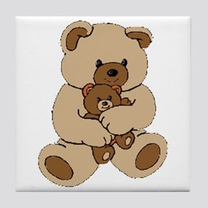 Teddy Bear Buddies Tile Coaster