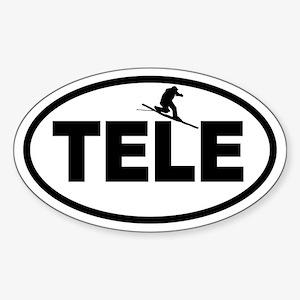 Telemark Oval Sticker