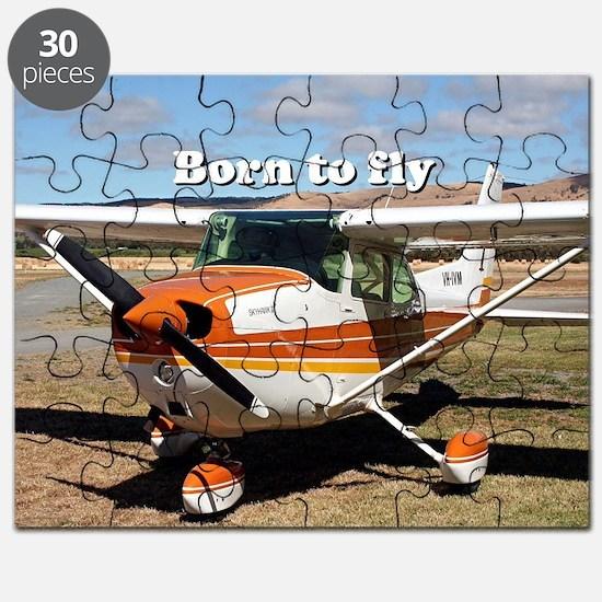 Cute Plane Puzzle