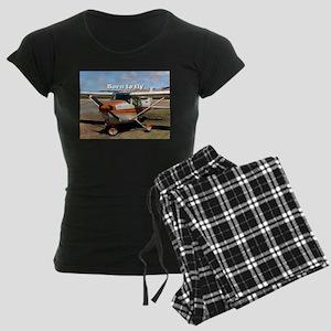 Born to fly: high wing aircr Women's Dark Pajamas