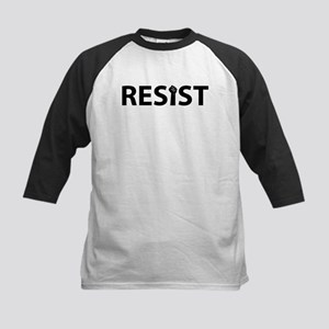 Resist With Fist Baseball Jersey