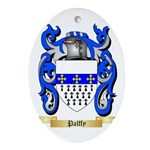 Palffy Oval Ornament