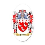 Paitson Oval Car Magnet