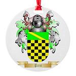 Pais Round Ornament
