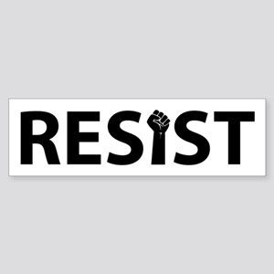 Resist With Fist Bumper Sticker