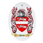 Paine Oval Ornament
