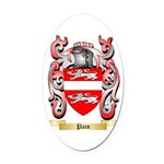 Pain Oval Car Magnet