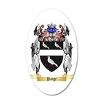 Paige 20x12 Oval Wall Decal