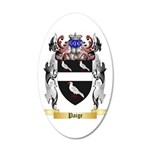 Paige 35x21 Oval Wall Decal
