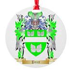 Paice Round Ornament