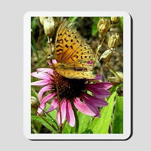 Fritillary Butterfly Mousepad