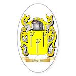 Pagram Sticker (Oval 10 pk)