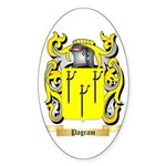 Pagram Sticker (Oval 50 pk)